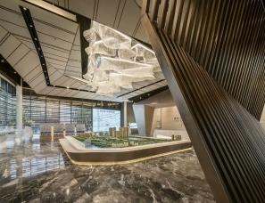 KLID达观国际设计--武汉东原启城售楼处