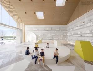 峻佳设计+则灵艺术 -- 合肥万科童·梦儿童主题销售中心
