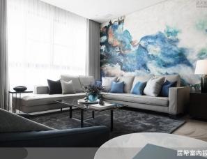 居希室內設計--湖水藍帶來嶄新東方風時尚