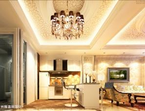 广州翰霖院设计——名门公寓设计效果图