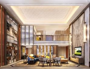 洲道设计(香港)---新东方风格私宅
