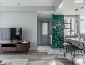 首发 | 打通2套小公寓,获得舒适感爆棚的生活大空间!