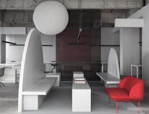 艾克建筑设计--汕头X游戏 – 形色界办公室