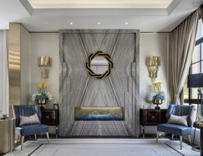 香榭蒂国际软装设计--中交锦悦别墅样板房