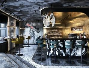 时下最IN的极简轻奢风酒吧设计