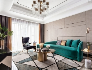 杭州尚层别墅装饰设计--万象城·悦玺