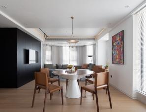 胜亨空间设计--紫荆假日广场住宅145㎡
