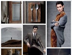 【色彩家】高级灰+棕色,优雅之风,品绅士情怀