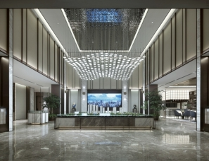 大研建筑设计--济南西沙璀璨悦府售楼处