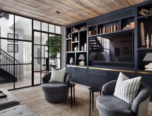 【首发】Gallagher design--肯辛顿市独特而精致的公寓