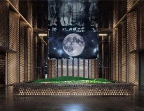 尚策室内设计--三亚融创海棠湾壹号销售中心&会所