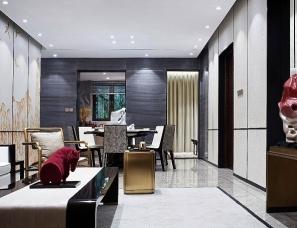 广州杜文彪设计--北京金樾和著样板间