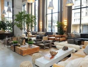 arrod Beck设计--纽约大都淳朴自然风格的酒店