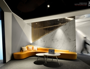 合肥东石空间设计 办公空间      曲 ▏折