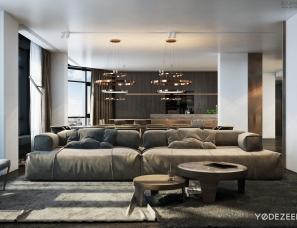 Yodezeen Design--stylish family residence