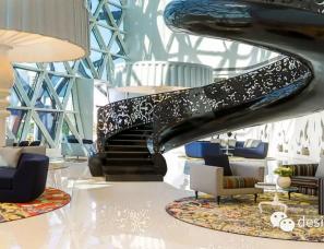Marcel Wanders设计--Mondrian Doha酒店