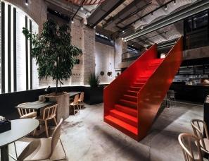 【首发】DA. design & architecture--PIZZA 22 restaurant