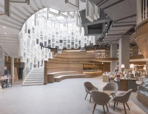 Kokaistudios设计--筑蹊生活主题书店