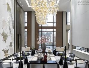 集艾设计--北京绿地海珀云翡售楼处