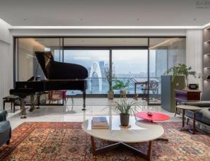 广州高硕设计--广州 500m² 大平层无敌江景奢宅