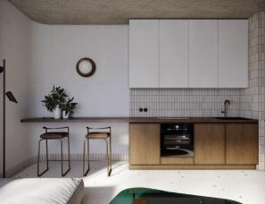 Ruslan Kovalchuk--极简高级精致小户型公寓