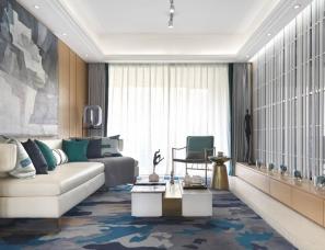 深圳昊泽空间设计--合肥建发雍龙府高层样板房A1户型
