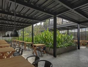 M9 Design Studio--Sunrise花园餐厅