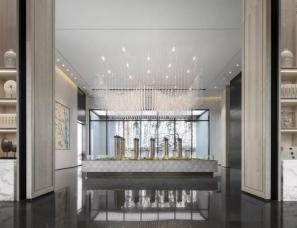 李益中空间设计--佛山中海雍景熙岸销售中心