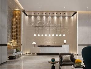 上上国际(香港)设计--三亚洛克港湾销售中心