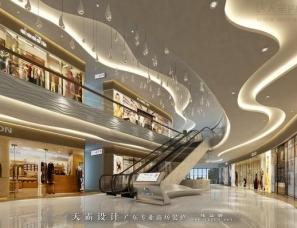 梅州锦发君城—购物中心效果图最新分享