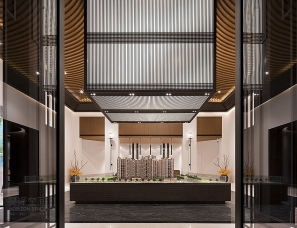 深圳昊泽空间设计--苏州建发地产中泱天成项目售楼处