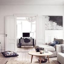 哥本哈根的简约时尚公寓 感受丹麦风情家