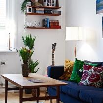53平米蔚蓝春色的公寓 清爽北欧风