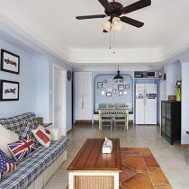 餐厅卡座设计—现代美式98平2居室