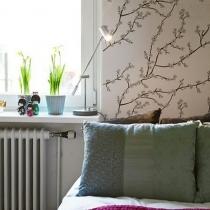 37平米春色盎然的北欧风单身公寓