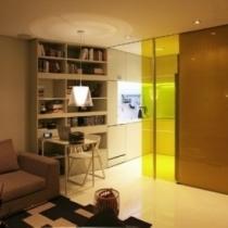惊人的高科技舒适44平方小套房