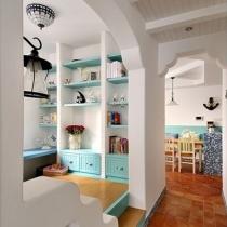 85平方地中海风格两居室