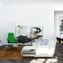 Alena Makagon design --精致、经典的住宅
