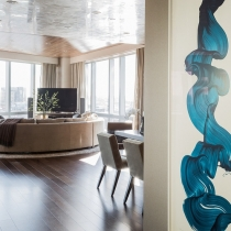 Terrat榆树室内设计--Intercontinental Residence