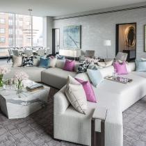 Jamie Drake设计--纽约One57公寓 美国最贵的公寓豪宅