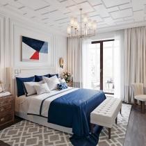 18个放松舒适的浅白色卧室设计