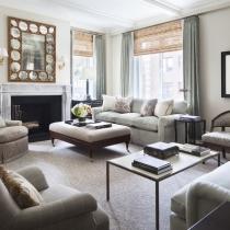Alexa Hampton 设计--Park Avenue Duplex Apartment