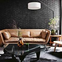 巴黎设计师夫妇黑色空间的戏法