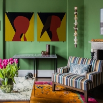 A Textile Trader's Colourful Sydney Apartment